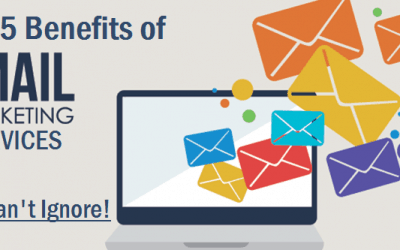 Top 5 Benefits of Email Marketing Services